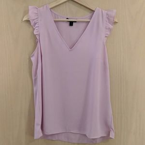 J.Crew Sleeveless Ruffle Top